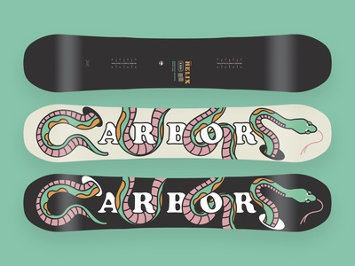 Youth Board Design for Arbor Snowboards