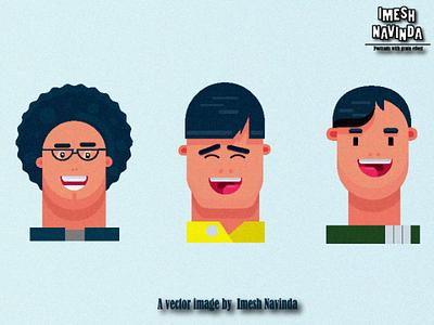 Portraits adobeillustator adobe noisetexture designs portraits vector illustator illustrations