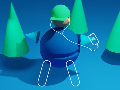 human 2 illustration designs blender adobeillustator 3d modelling design illustrations illustator adobe