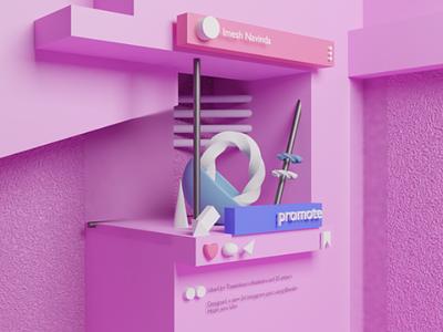 Instagram post blender 3d blender textures textures 3dartwork 3d purple instagram post instagram b3d design