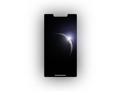 Moon Wallpaper space moon planet b3d 3d blender3d blender illustration design art