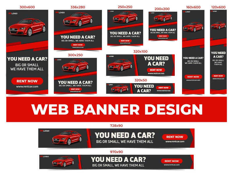 Car Rent Banner Designs Themes Templates And Downloadable Graphic Elements On Dribbble