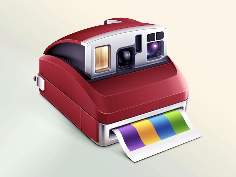 Polaroid camera polaroid photo