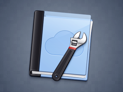 CMS Icon cloud wrench folder cms
