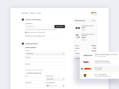 Checkout Flow E-Commerce - Wireframe payment shopping product userinterface user flows user experience ux web app prototype sketch user flow wireframe ecommerce flow checkout