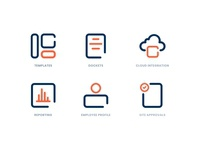 Employee Management System - Icons