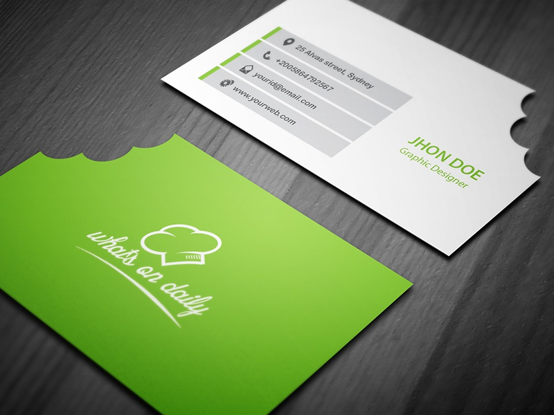 Restaurant business card template by kazi mohammed erfan dribbble cheaphphosting Image collections