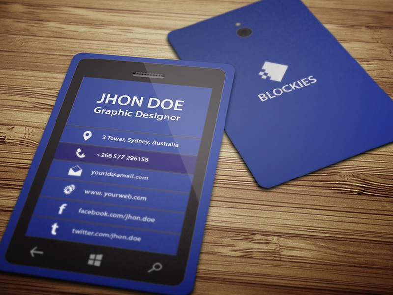 Exclusive Smart Phone Business Card by Kazi Mohammed Erfan - Dribbble