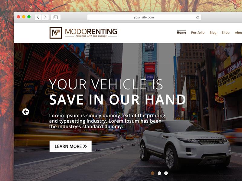 Modo - Landing Page (Freebie) web website minimal clean ui ux app flat open sans typography freebie free