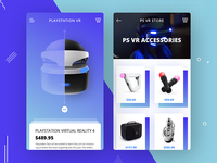 PlayStation Virtual Reality App Design