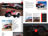TSCO Truck Website Design