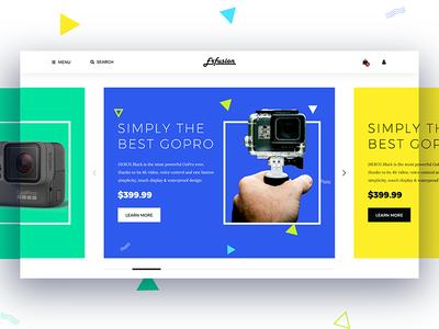 E-Commerce Website UI Kit