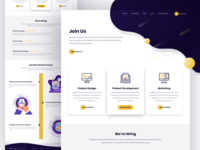 Careers Page Design