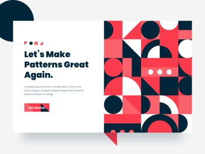 Patterns - Landing Page Exploration