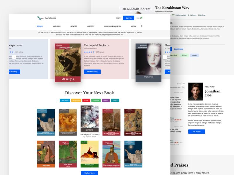 Book Store Website Design book art reader website ux ui reading checkout ecommerce book store book app books book