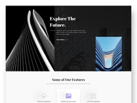 Architecture Website Design Exploration