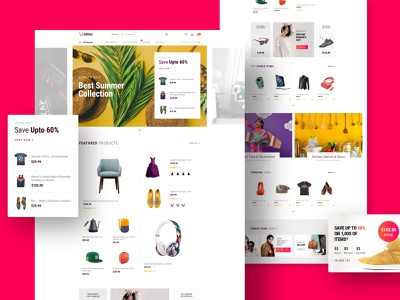 Arino - Joomla eCommerce Template product details shopping cart cart shop furniture electronics product joomla theme template website ecommerce