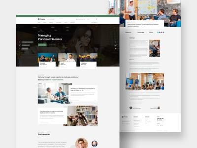 Finatic - Finance, Accounting & Consulting Firm Joomla Template professional landing page uidesign loan investments website finance app joomla accounting corporate business consulting financial finance