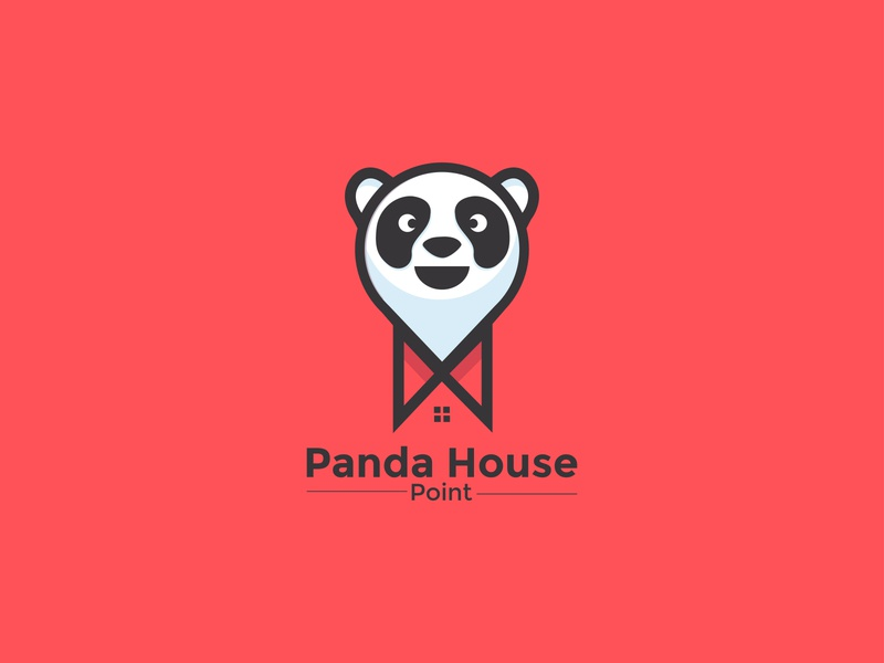 Logo concept for  Panda House