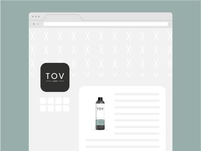Brand & Bottle Design   TOV