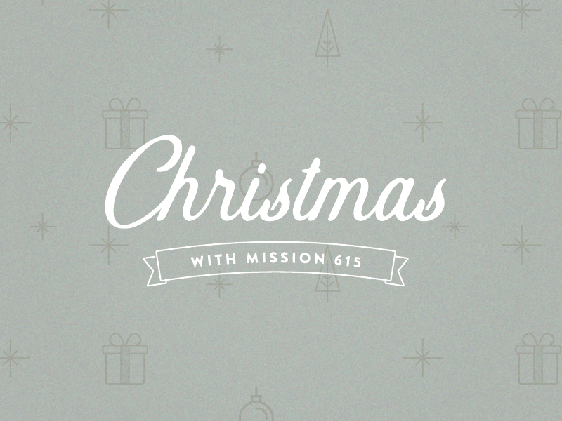 Christmas With Mission 615 | Journey Church non-profit graphic non-profit sermon graphic christmas graphic christmas mission holiday campaign church graphic