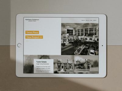 Matheny Goldmon   Brand & Website