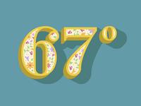 67 Dregrees