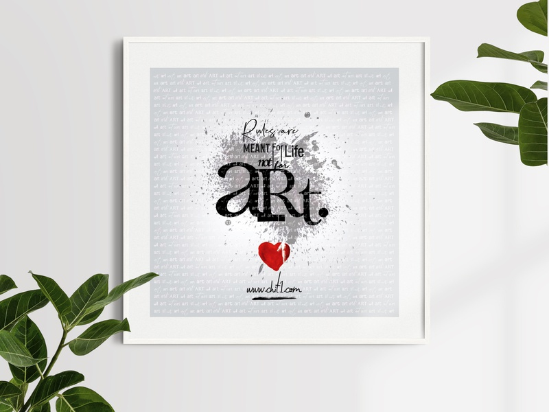 Poster For Art poster design poster printing wallpaper artist art print design print typography