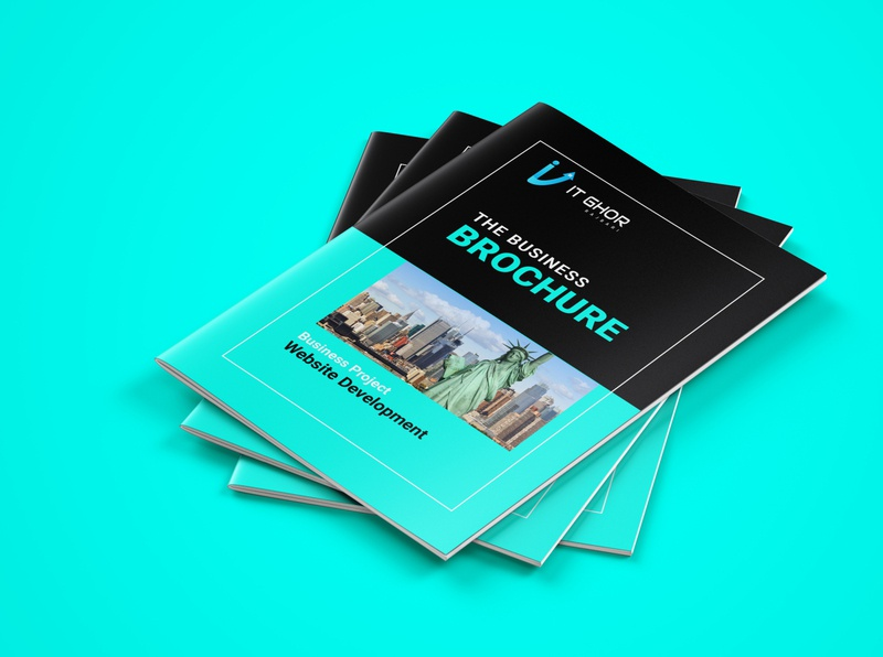 Business Brochure Design  v-1