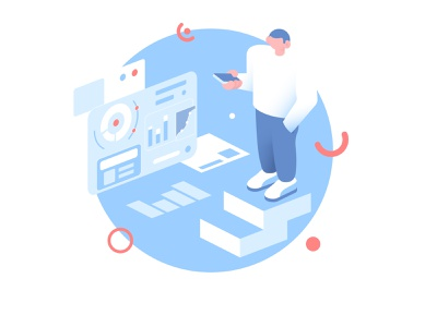 Project-manager inspiration designer design man creative work flat character character illustration illustrator vector illustration vector flat flat design 2d