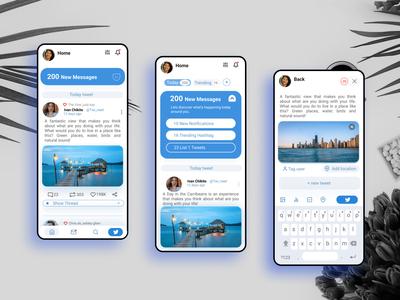 Social Media App - Twitter Clone