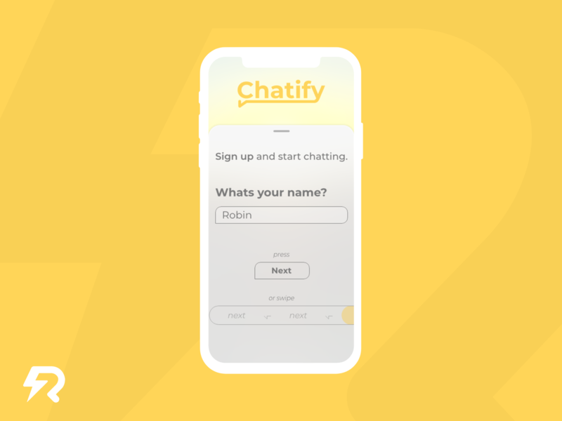 DailyUI, Day 1 • Sign up