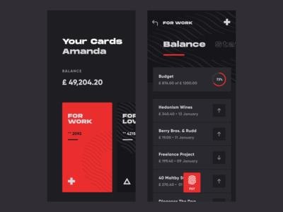 Wallet App ux ui mobile app design mobile ui swiss style swiss balance exchange wallet crypto wallet mobile app mobile