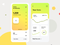 Calories Counter mobile app