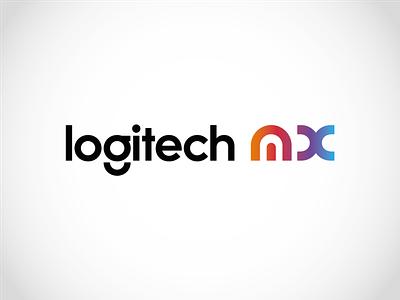 Logitech - MX Master Series Logo logo mx logitech