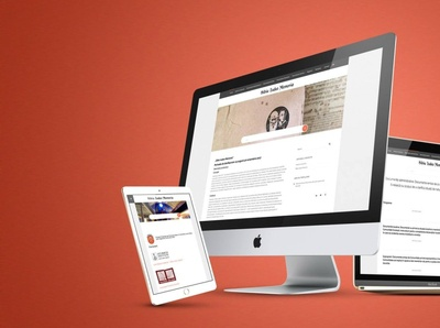 Online Archive - Iudeo Memoria uiux website web design