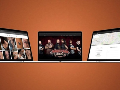 Website Transilvania Tattoo Sibiu design uiux website web design