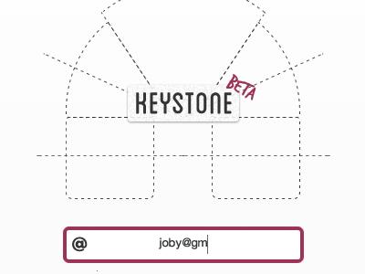 Keystone Beta Login rough [crop]