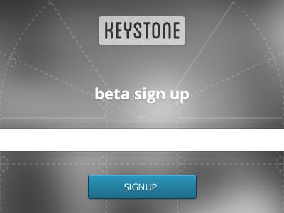 Keystone Beta Signup