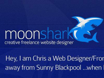 Header of my new freelance website