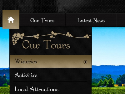 New Wine Website