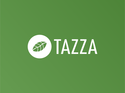 Coffee Shop Logo - Tazza