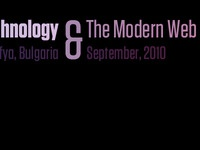 …hnology & The Modern Web