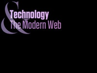 Technology & The Modern Web