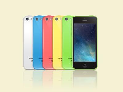iPhone 5c Vector  iphone 5c vector ai freebies free