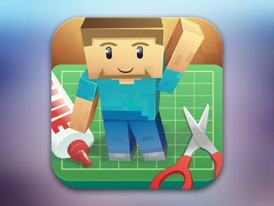 Papercraftminecraft