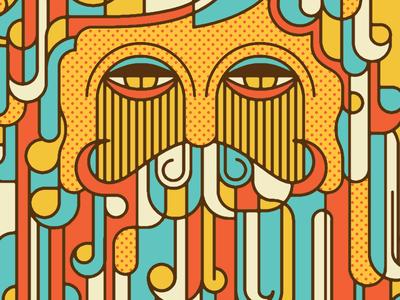 Bearded Hipster Dude 2