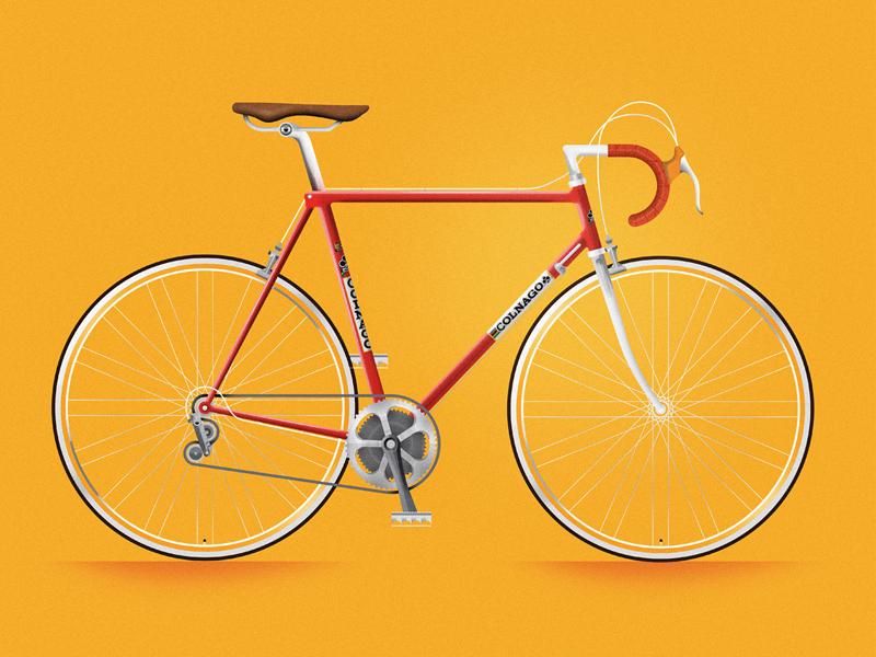 Vintage Colnago bike