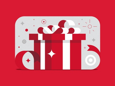 Target gift card box ribbons by pavlov visuals dribbble target gift card box ribbons negle Image collections