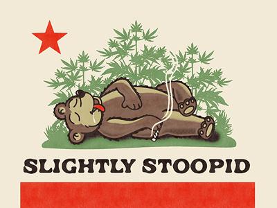 Stoned Republic weed california bear stoned
